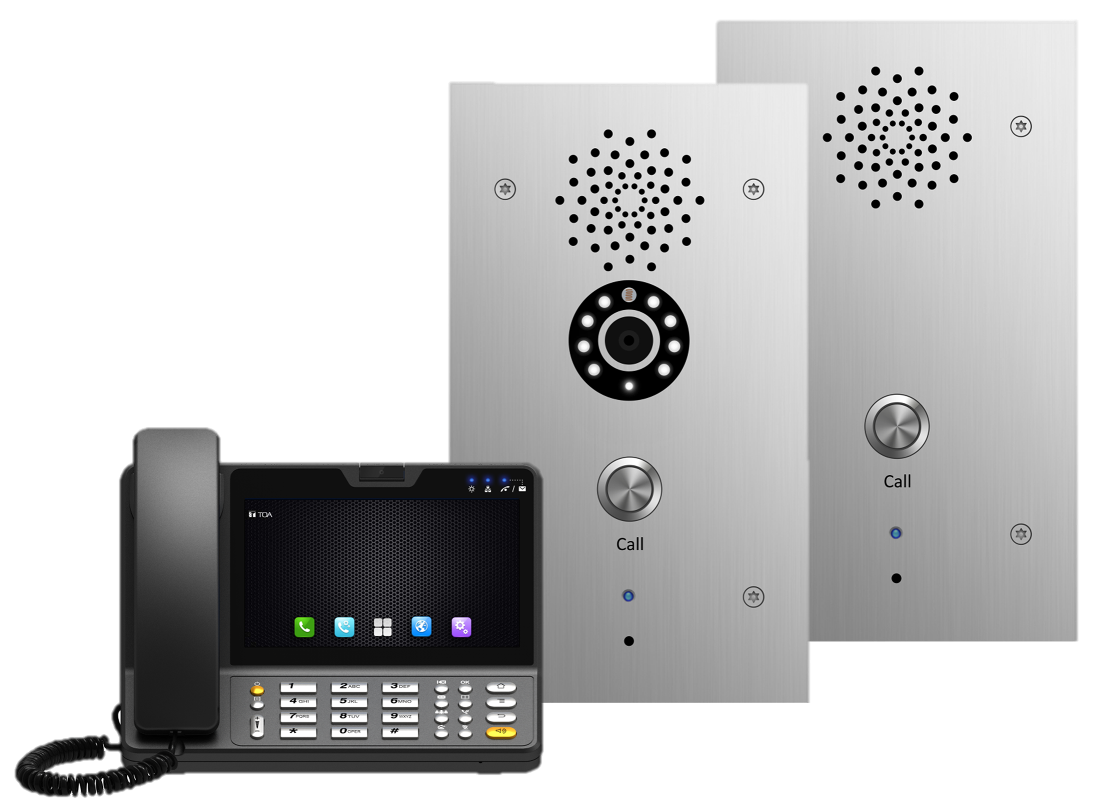 SIP Gateway Cisco CertifiedTOA Canada Introduces SIP Intercom Stations