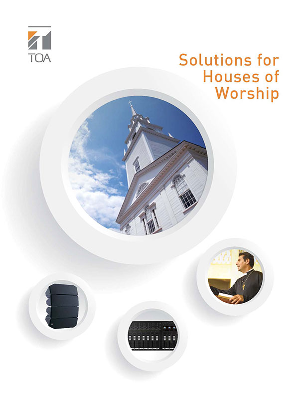Solutions for Houses of Worship Brochure