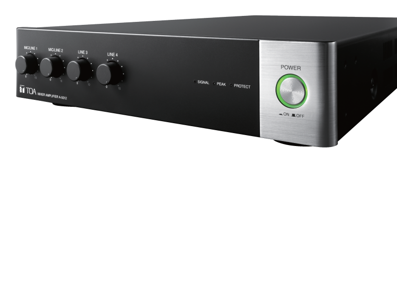 A-5000 Series Digital Mixer Amplifier