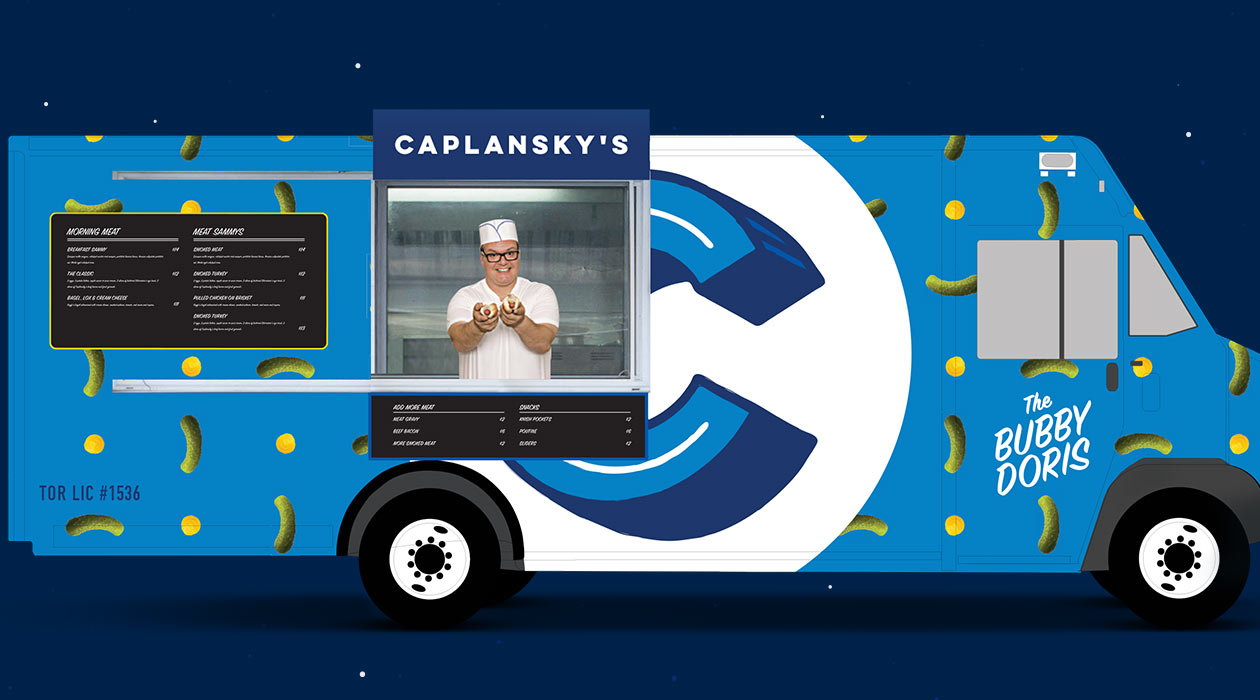 Caplansky's -The Bubby Doris Truck
