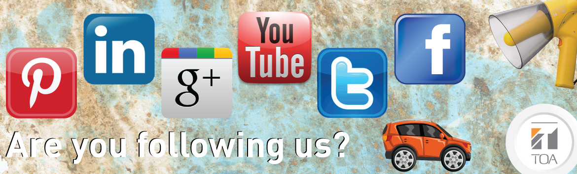 Are you following us? TOA