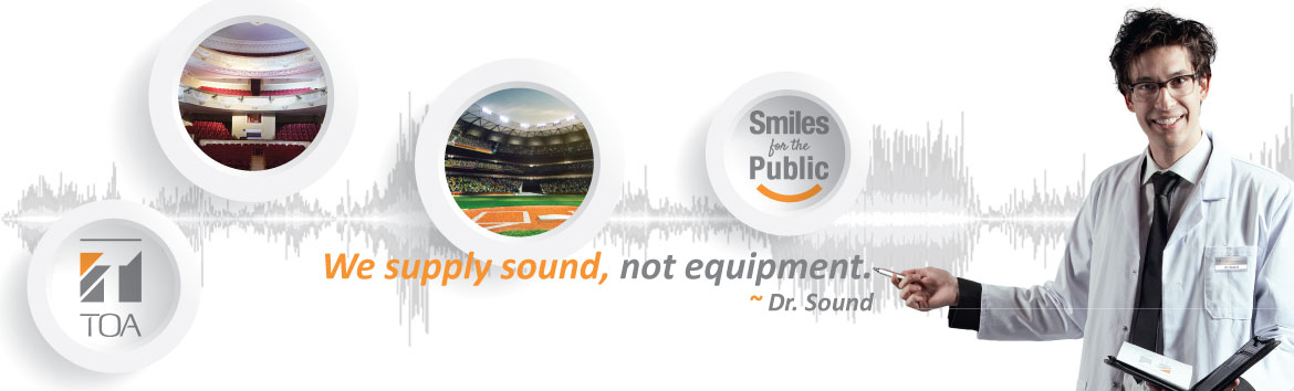 Welcome, from Dr. Sound