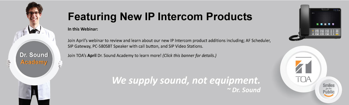 Featuring New IP Intercom Products