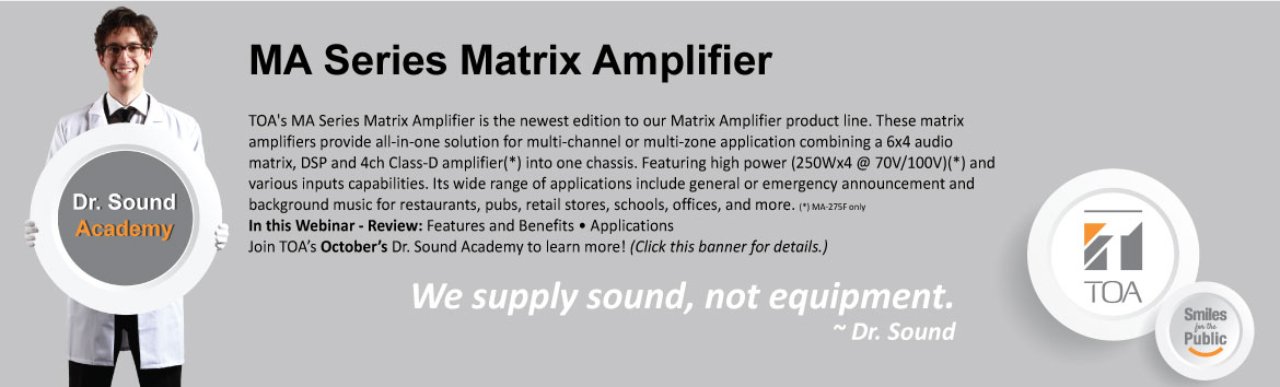 MA Series Matrix Amplifier
