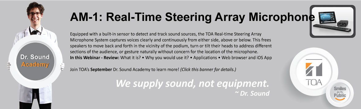 AM-1 Real-TIme Steering Array Mircophone