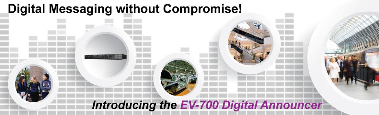 EV-700 Digital Announcer