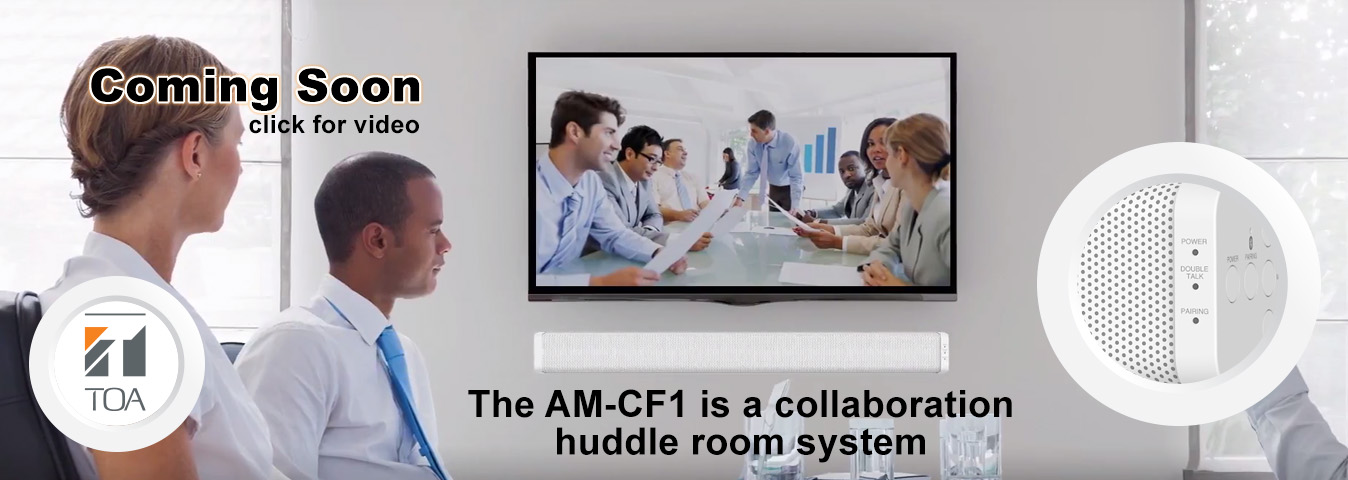 AM CF1 business speaker, collaboration system