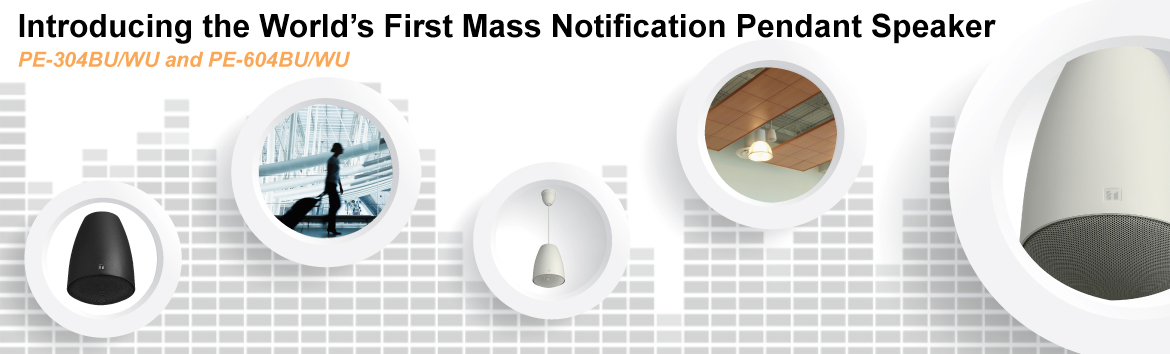 Mass Notification Pendant Speaker