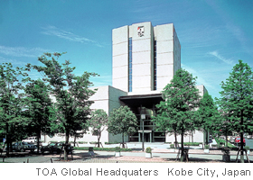 TOA Global Headquaters, Kobe City, Japan