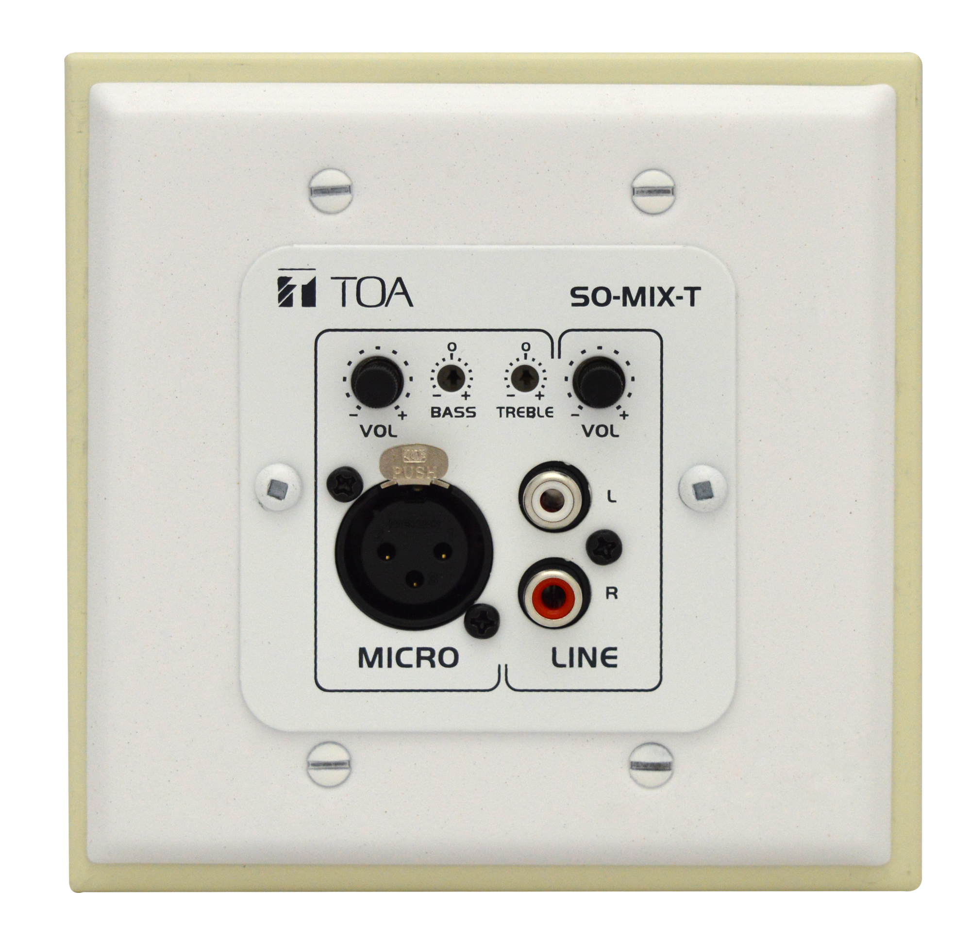 Remote Mixer with Wall Plate